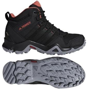 アディダス adidas レディース トレッキングシューズ ゴアテックス テレックス CM7661 コアブラック/コアブラック/トレーススカーレット S18カラー