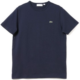 (ビームスエフ)BEAMS F/カットソー LACOSTE/ロゴ クルーネックTシャツ メンズ NAVY/166 3