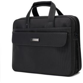 クロース(Kroeus)ビジネスバッグ 人気 2way メンズ 通勤 出張 営業 軽量 大容量 マチ拡張 ブリーフケース PCバッグ 15.6インチ 手提げ ショルダー