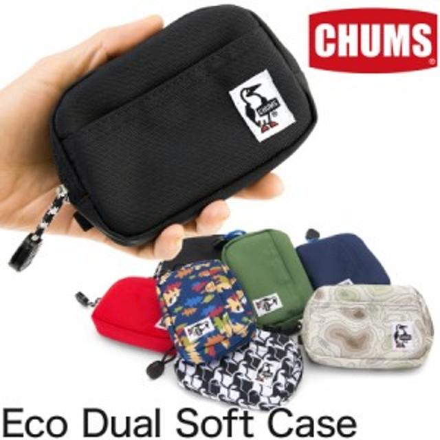 チャムス / CHUMS エコデュアルソフトケース (デジカメケース コンデジ)