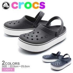 クロックス サンダル クロックバンド プラットフォーム クロッグ CROCBAND 205434 レディース CROCS 靴