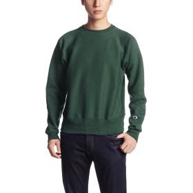 [チャンピオン] リバースウィーブクルーネックスウェットシャツ MADE IN USA C5-U001 メンズ モスグリーン 日本 S (日本サイズS相当)