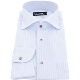 BUSINESSMAN SUPPORT(ビジネスマンサポート) 日本縫製 長袖ワイシャツ 日本生地 形態安定 jp-4 022-M