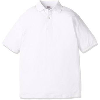 (ユナイテッドアスレ)UnitedAthle 5.3オンス ドライカノコ ユーティリティー ポロシャツ 505001 [メンズ] 001 ホワイト M