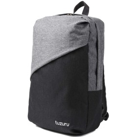 tuzuru リュック メンズ レディース バッグパック 大容量 防水 ビジネス 通勤 通学 旅行 軽量 おしゃれ キャリーオンバッグ ノートPC収納 (ブラック)