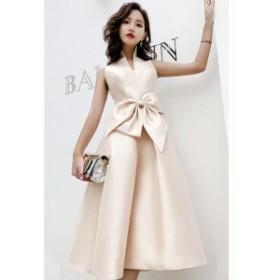 イブニングドレス パーティードレス ノースリーブ ロング 結婚式 二次会 お呼ばれ 発表会 演奏会 大きいサイズ  韓国