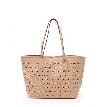 COACH コーチ PERF LTH CTY TOTE f59345