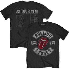 ROLLING STONES ローリングストーンズ US TOUR 1978(復刻ツアーTシリーズ) / Tシャツ/メンズ 【公式/オフィシャル】