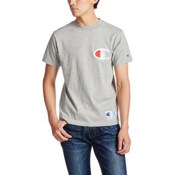 [チャンピオン] ビッグロゴTシャツ アクションスタイル C3-F362 メンズ オックスフォードグレー 日本 XL (日本サイズXL相当)