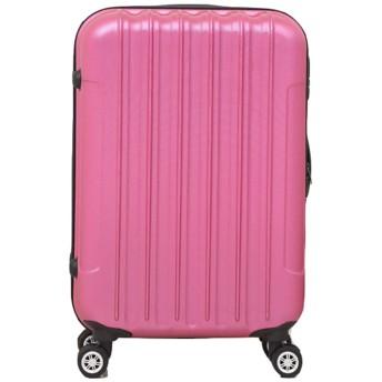 ANGELCITY スーツケース キャリーケース キャリーバッグ 機内持ち込み ファスナー式 TSAロック付 静音キャスター 盗難防止 傷が目立ちにくい アルミフレーム ビジネススーツケース PC100%ボディ 旅行 出張 男女兼用 A1876 (20インチ, レッド)