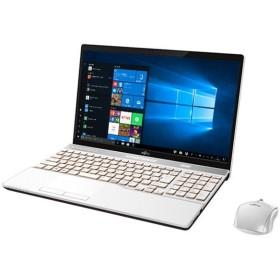FMVA53D1W [プレミアムホワイト] ◆ 富士通 FMV LIFEBOOK AH53/D1 windowsノートパソコン