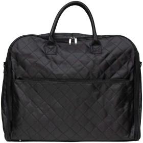 (キョウエツ) KYOETSU きものバッグ 手提げ 和装 キルティング 収納抜群 黒 ブラック 男女兼用