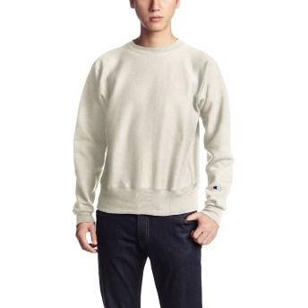 [チャンピオン] リバースウィーブクルーネックスウェットシャツ MADE IN USA C5-U001 メンズ オートミール 日本 S (日本サイズS相当)
