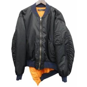 Y.PROJECT 変形MA-1ジャケット ブラック サイズ:L (新宿店) 190714
