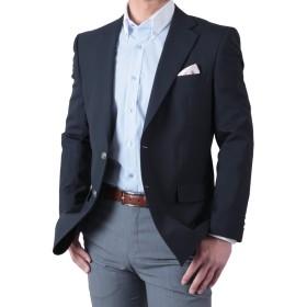 春夏 紺ブレザー シングル 2ツボタン メンズ ネイビージャケット 定番スタイル アイビールック 体型:BB体 (ゆったり体型) 5号