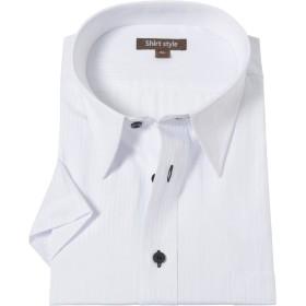 ワイシャツ 大きいサイズ 半袖 3L 4L 5L 6L 白 メンズ クールビズ yシャツ カッターシャツ ビジネス 男