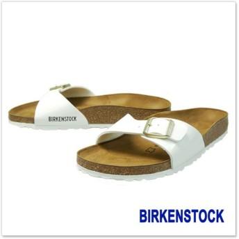 BIRKENSTOCK ビルケンシュトック レディースシャワーサンダル MADRID(マドリッド) / 1005310 [ナロー幅] ホワイト
