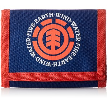 [エレメント] 財布 小銭入れ (バリバリ マジックテープ) 【/ Elemental Wallet 】 三つ折り かわいい AH022-995 BIU_ブルー One Size