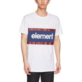 (エレメント)ELEMENT  メンズ  半袖 プリント Tシャツ (ロゴプリント) [ AI021-306 / STANFORD SS TEE ] おしゃれ AI021-306 OTW OTW_ホワイト XL
