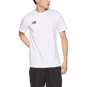 [ニューバランス] ムーブドコットンTシャツ Football WT(ホワイト) 日本 M (日本サイズM相当)