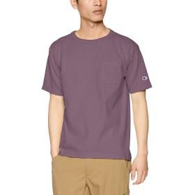 [チャンピオン] T1011 US Tシャツ ポケット付 MADE IN USA C5-P305 メンズ ダルパープル 日本 L (日本サイズL相当)