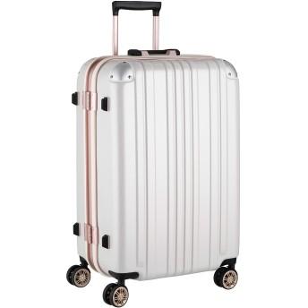 LEGEND WALKER レジェンドウォーカー 鏡面ボディ スーツケース アルミフレーム ダブルキャスター Mサイズ 5122-62