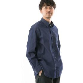 [ワークノットワーク] ワイシャツ イージーフィットダンガリーシャツ メンズ INDIGO M