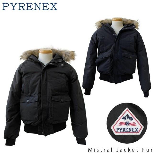 2018AW 『Pyrenex-ピレネックス-』 Mistral Jacket Fur ミストラル ジャケット メンズ ダウン HMK005