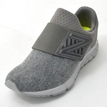 new balance(ニューバランス) スリッポン スニーカー VAZEE RUSH V ML メンズ レディース カジュアル シューズ 靴 23.0cm J-GRAY mlrushv-230-J