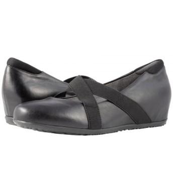 SoftWalk(ソフトウォーク) レディース 女性用 シューズ 靴 ヒール アンクル Waverly - Black Soft Leather 6 W (D) [並行輸入品]