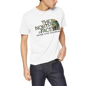 [ザ・ノース・フェイス] Tシャツ ショートスリーブカモフラージュロゴティー メンズ ホワイト 日本 L (日本サイズL相当)