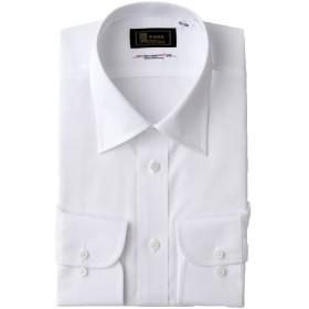 (モノワール) MONOIR 喪服 メンズ 礼服 日本製 レギュラーカラー シャツ ワイシャツ ビジネス ws1000 LLサイズ ホワイト