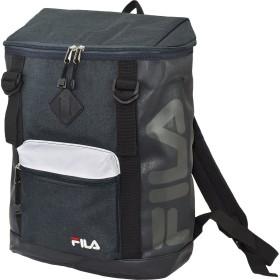 (フィラ)FILA ブランド ロゴ ボックス リュック GR00811 ネイビー