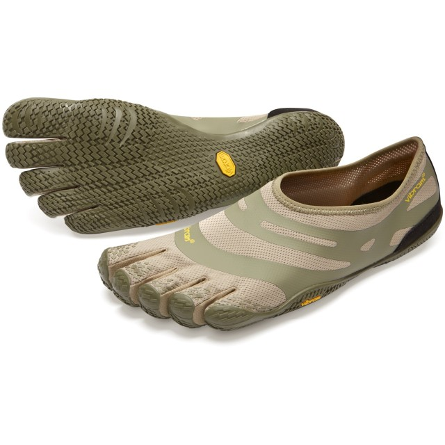 vibram fivefingers ファイブフィンガーズ Men's EL-X メンズ 18m0101 Khaki/Coyote (M43(27.3cm), Khaki/Coyote)