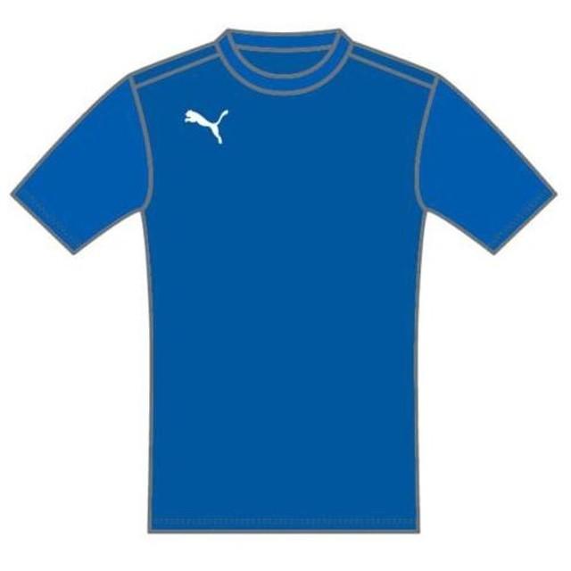 772f0f1c9f035 PUMA(プーマ) ハンソデTシャツ 903618 03POWER_BLUE XO 通販 LINE ...