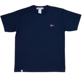 """FREEWAY428(フリーウェイ) """"FREEWAY1975""""バックプリントTシャツ (XL/NAVY) 【FW-FWQ062】 レディース/メンズ"""