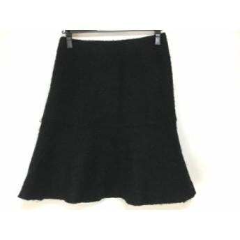 ナラカミーチェ NARACAMICIE スカート サイズ1 S レディース 黒 ラメ【中古】20190712