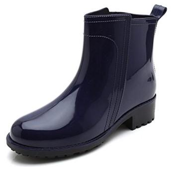 [ファーストエンカウンタ] レインブーツ レインシューズ サイドゴア レディース 防水 雨の日でもおしゃれに 梅雨対策 通勤 通学