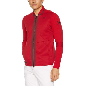 [オークリー] Skull Merged Sweater Jacket 4.0 412635JP メンズ Jester Red L
