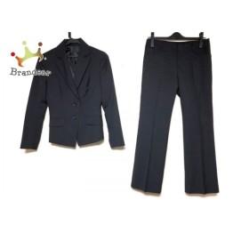 ボナジョルナータ レディースパンツスーツ サイズS レディース 黒 三点セット/肩パッド 新着 20190713