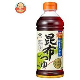 【送料無料】ヤマサ醤油 昆布つゆ 500mlペットボトル×12本入