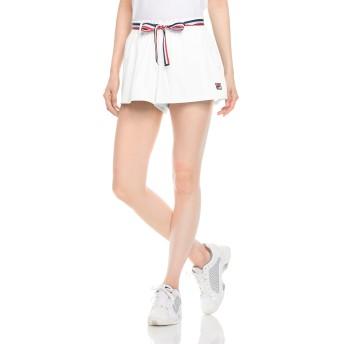 (フィラテニス)FILA TENNIS テニスウェア ショートパンツ 18SS VL1753 [レディース] VL1753 01 ホワイト L