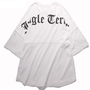 VIISHOW 英文字ロゴ プリント 半袖tシャツ