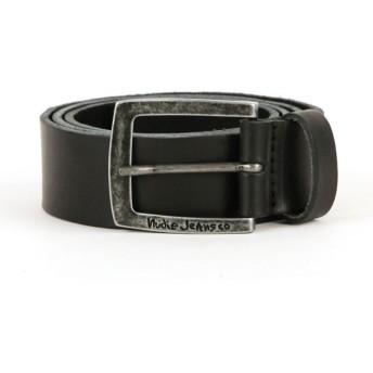 [ヌーディージーンズ] Nudie Jeans 正規販売店 メンズ ベルト ANTONSSON VINTAGE BELT BLACK B01 180639 75 (73~78cm) (コード:4084066218-2)