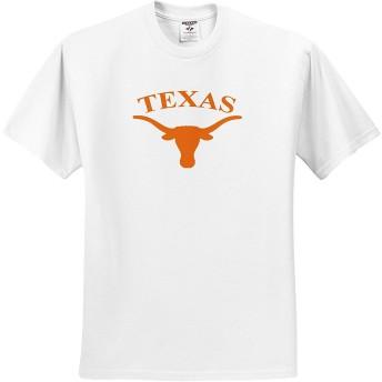 大学テキサスロングホーンTシャツ