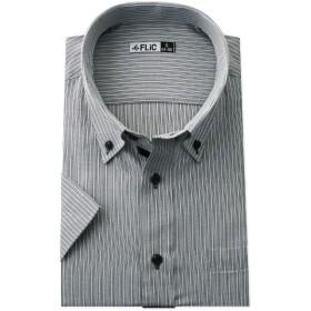 FLiC ワイシャツ 半袖 形態安定 メンズ ビジネス M(スリム) HB712 / snb-sm-hb712