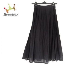 グーコミューン GOUT COMMUN ロングスカート サイズ38 M レディース 美品 黒 新着 20190713