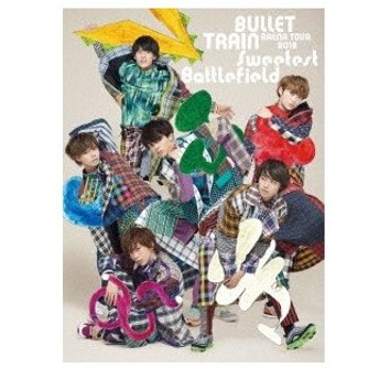 超特急/BULLET TRAIN ARENA TOUR 2018 Sweetest Battlefield at Musashino Forest Sport Plaza Main Arena<Blu-ray+ブックレット>20190123