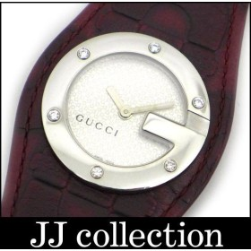 GUCCI グッチ YA104 レディース腕時計 Gバンデュー Gラウンドウォッチ