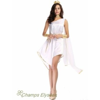 ハロウィン ギリシャの女神中世ヨーロッパ ローマ神話コスプレコスチュームセクシーレディース/イベント衣装Halloween衣装舞台衣装
